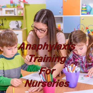 Anaphylaxis training online for childminders and nurseries