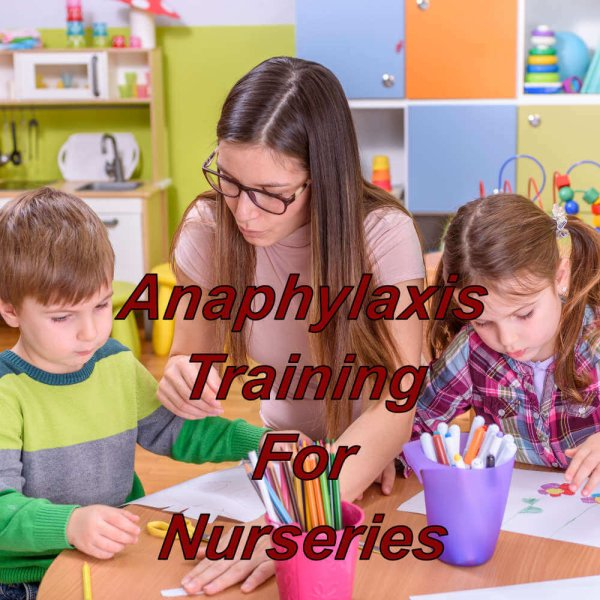 Anaphylaxis training on-line for childminders and nurseries, e-learning cpd certified course.