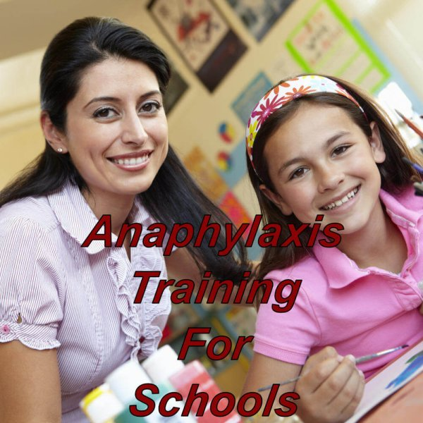 Anaphylaxis training on-line for school, CPD certified e-learning course