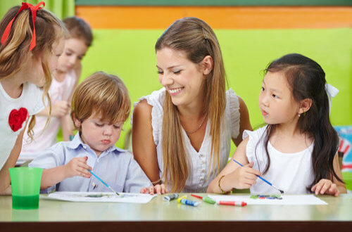 EYFS training course via e-learning for childminders