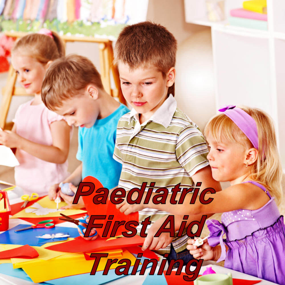 Paediatric first aid training via e-learning for child minders, nannies & teachers
