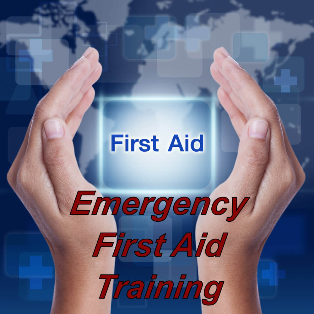 Emergency First Aid Course via e-learning, ideal for school teachers, childminders, warehouse & factory workers, emergency first aid course available via e-learning