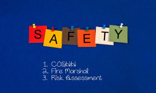 COSHH, Fire Marshal & Risk Assessment course bundle