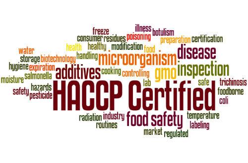 HACCP training course via e-learning
