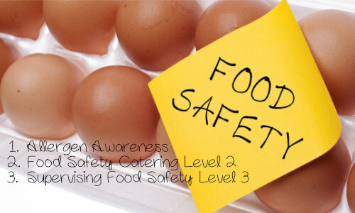 Food safety discounted course bundle ideal for childminders, school teachers, kitchen staff.